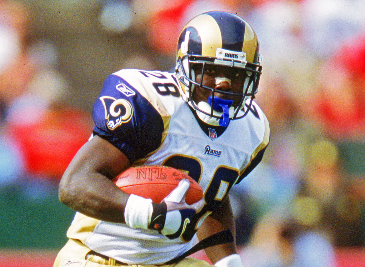 Faulk was the first fantasy football superstar at a time when interest in the game had started to increase. During our time frame, he ranked third in scrimmage yards and scored the fifth-most total touchdowns. From 1997-2001, Faulk ranked in the top seven in fantasy points among running backs every single year. In 1999, he had 1,000-plus yards as both a runner and a receiver. Imagine getting those totals now!