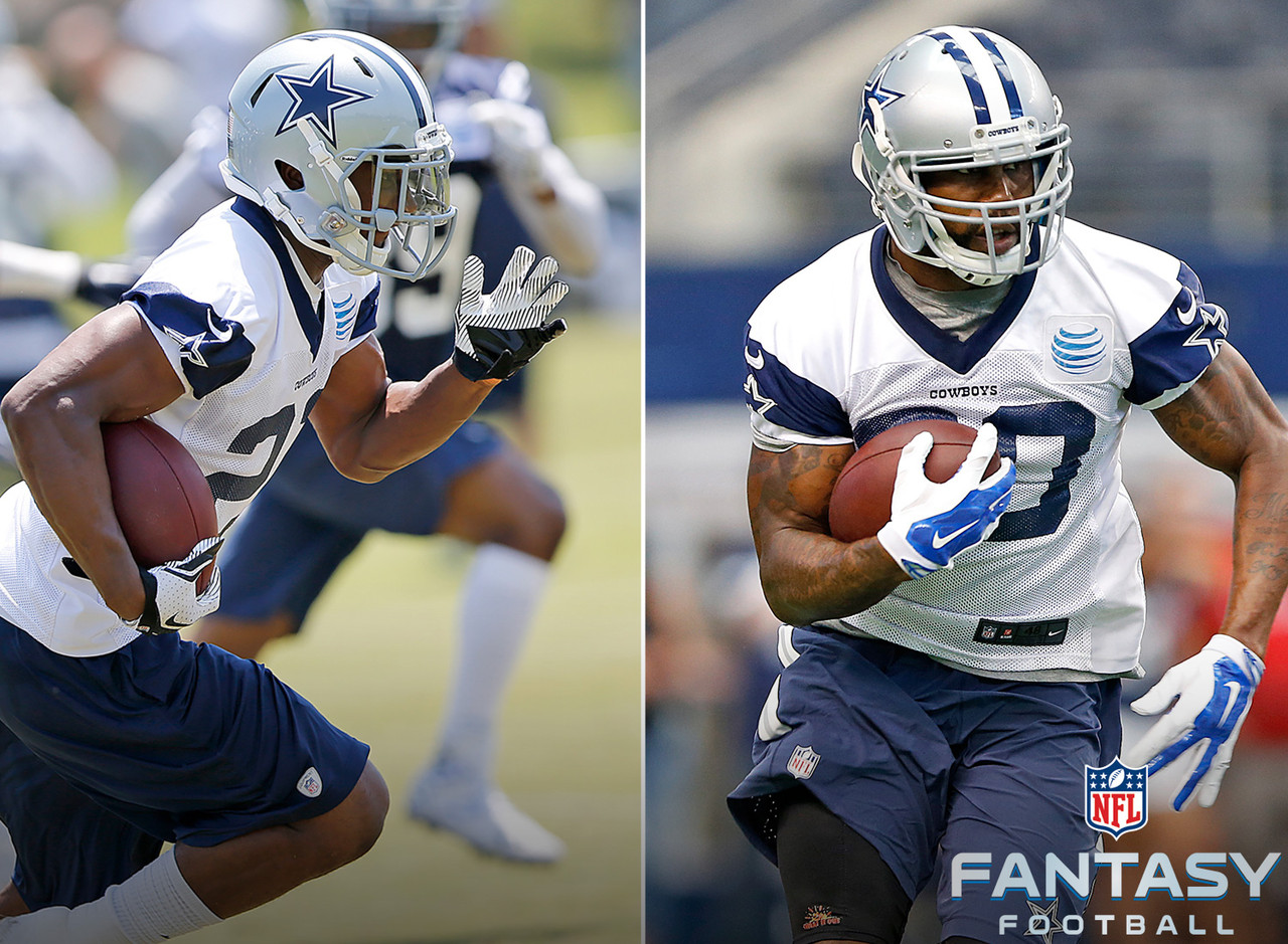 "As Roger Murtaugh said in ""Lethal Weapon 2,"" picking the eventual lead back in Dallas could equate to winning a ""Donald Trump lotto"" in fantasy football. The Cowboys have one of the best offensive lines in the NFL, which contributed to the success of DeMarco Murray a season ago. I'm on board with Joseph Randle, who averaged 6.7 yards per carry in 2014 and has youth and potential on his side. However, it wouldn't be a shock to see Darren McFadden open the season as the starter either. A committee situation is also very possible here, but an impressive camp from either Randle or McFadden will get the fantasy football hype train running on all cylinders."