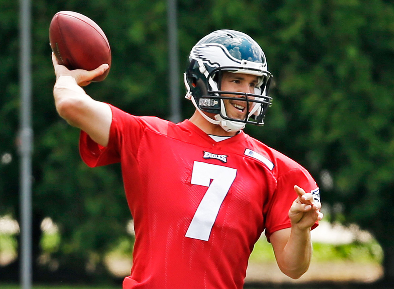 "<p>The last two seasons have taught us that Chip Kelly can near ""quarterback proof"" his offense. No matter who has been behind center for the Eagles, they've been a usable fantasy asset. In 2013, Nick Foles put up 27 touchdowns to just two interceptions. Last season, the Foles/Mark Sanchez combination would have finished as the 14th best fantasy quarterback. Sam Bradford's career hasn't gotten off to a stellar start, but he's a more physically gifted player than either of his predecessors. Health is the biggest obstacle's that's plagued Bradford to this point. Seeing how he appears physically in the preseason will be of the upmost importance for fantasy owners. If it's smooth sailing for Bradford's health, he's the most obvious quarterback sleeper for 2015.</p>"