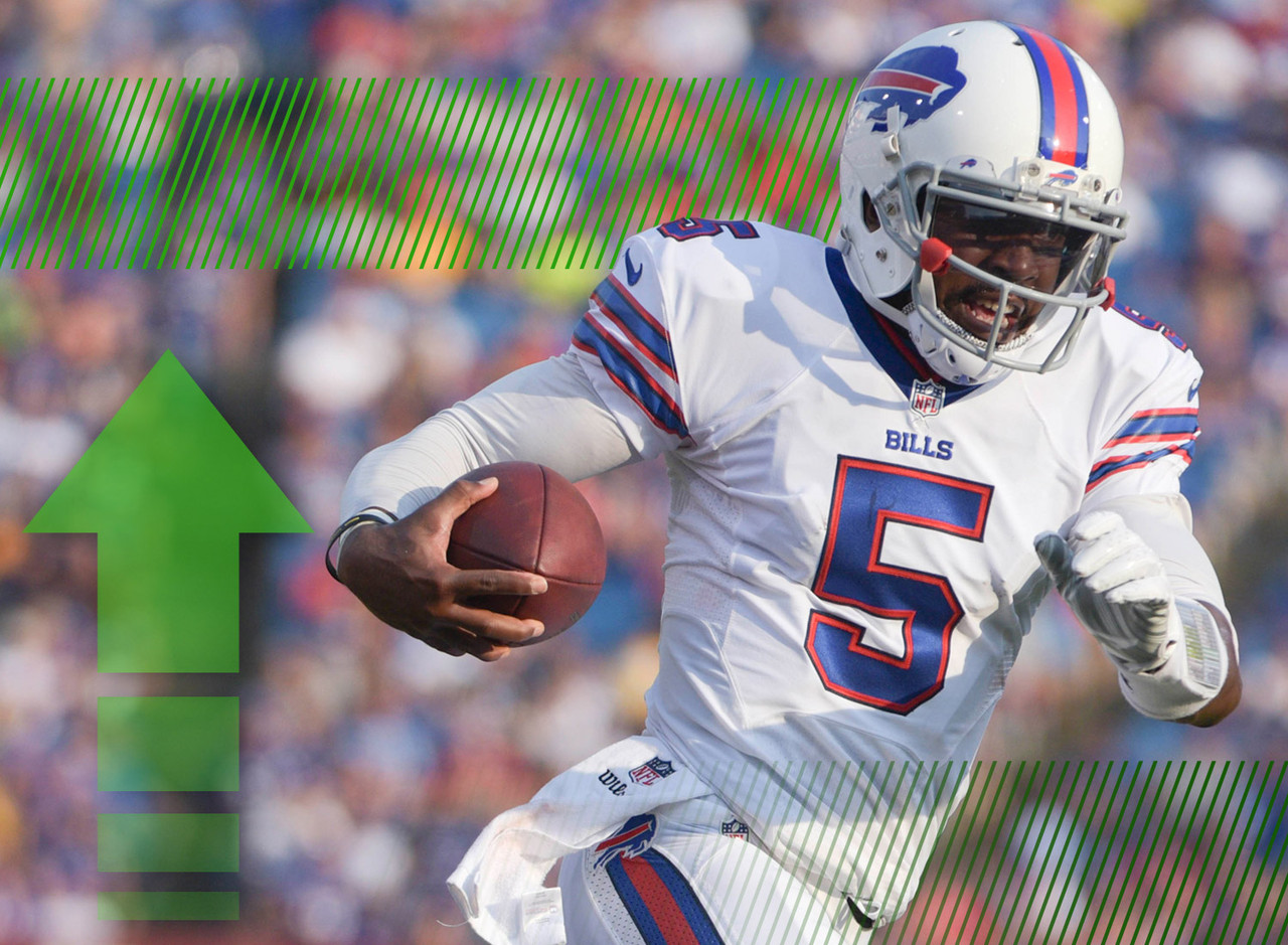 <p>We have a starting quarterback in Buffalo! Tyrod Taylor has been named to the job, ending weeks of speculation. The idea that Taylor would win the gig had been picking up steam throughout training camp and was reinforced by the young quarterback's play during the Bills' preseason games. It's a major stretch to think that Taylor could be more than a late round option as a QB2 this season, but as a starting signal-caller in the National Football League, there is certainly some value there. Even more when you consider Taylor's ability to run with the football. </p>