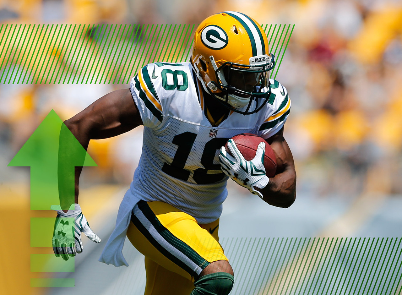 <p>After Randall Cobb suffered a sprained AC joint in Week 3 of the preseason, his owners were forced into a panic. However, Cobb has practiced this week and is listed as probable for Sunday. He'll be a WR1 for the Packers and fantasy lineups against the Bears this week. </p>