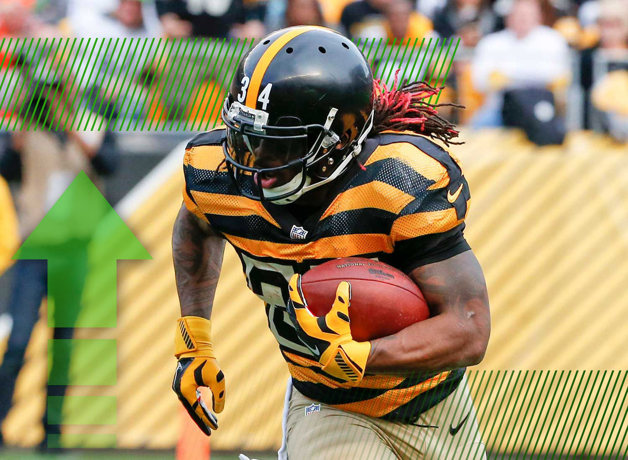 <p>The injury bug has reared its ugly head far too many times this season and last week it took Le'Veon Bell with it. That puts Williams back in the spotlight. The veteran was the top rusher in the league after the first two weeks while playing in place of the suspended Bell. Williams is the best of the backup running backs in the league and should not only be universally rostered in fantasy football but should be started just about every week.</p>