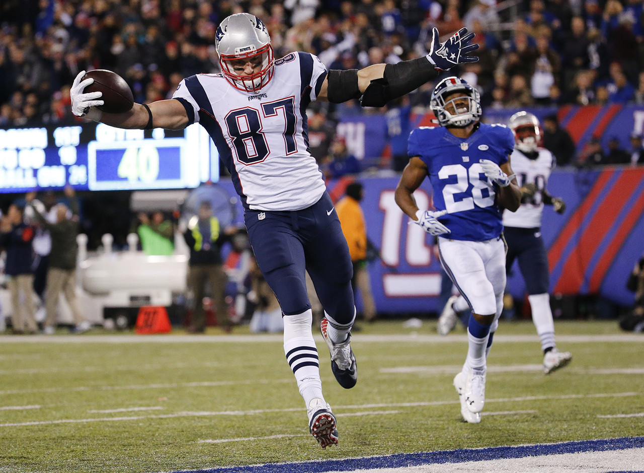 Gronk leads all tight ends in receiving yards, and is second in touchdown receptions. He's the no-brainer No. 1 tight end.