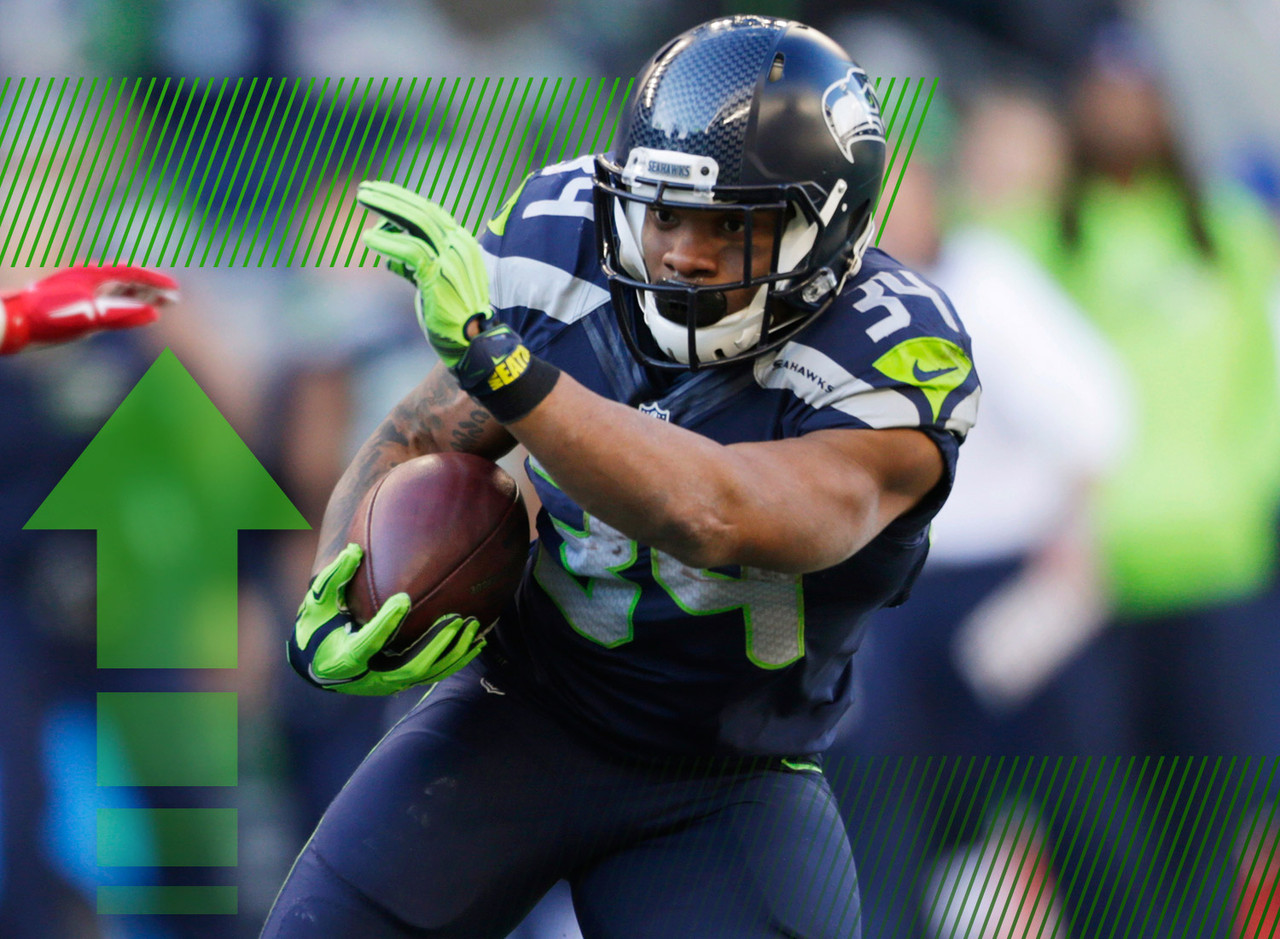 Rawls was already starting to see his value increase by virtue of getting a start against the 49ers last week and turning it into 255 total yards and two touchdowns. That fantasy value gets an even bigger boost with news that Marshawn Lynch is going to have abdominal surgery that should keep him out for a month or longer. The Seahawks will consider this an audition for their potential running back of the future. You can potentially ride Rawls to a fantasy championship.