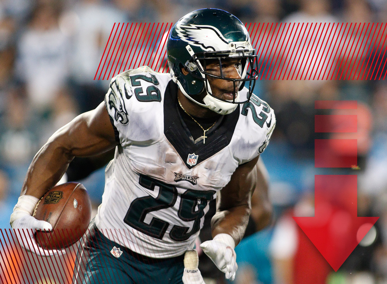 <p>All season long, observers noted that Murray was a bad fit for the Eagles offense. It looks like Chip Kelly is starting to agree. The veteran running back has seen fewer and fewer touches over the past few weeks. Now that Ryan Mathews appears on track to return to the field, Murray's opportunities could diminish even further. The fear that last season's leading rusher was in line for a setback have become fully realized in the final month of the fantasy season.</p>