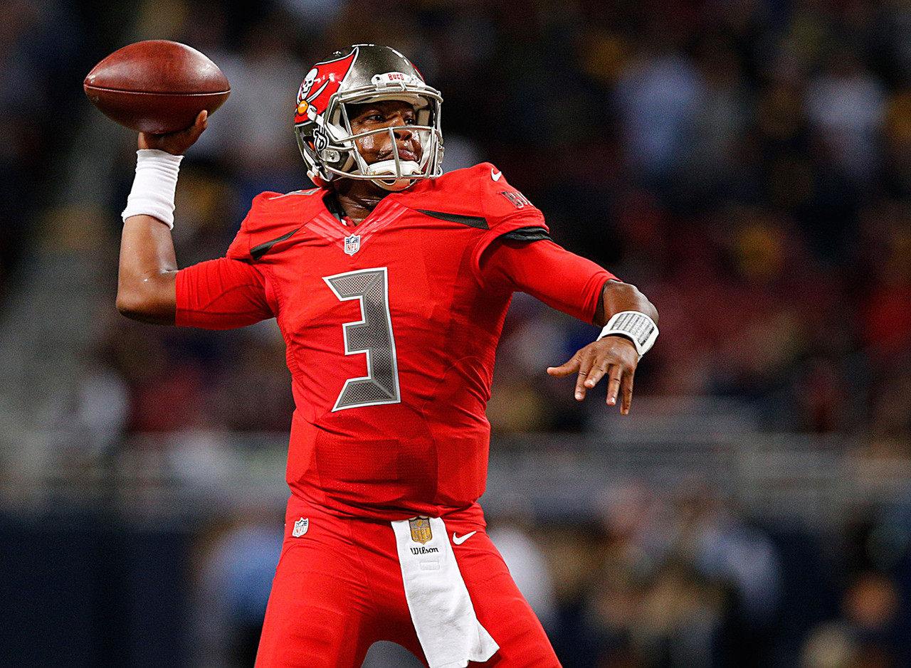 <b>Draft position:</b> Round 1, No. 1 overall.<br /> <br /> Winston threw for 4,042 yards, had 22 touchdowns against 15 picks and recorded a passer rating of 84.2. He started off slowly, tossing seven picks in his first four games, but improved as the season wore on, putting up a touchdown-to-interception ratio of 16:8 over his last 12 games. It looks like Tampa Bay has found its franchise quarterback.