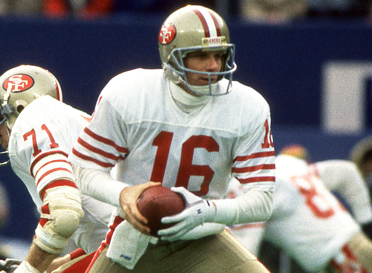 <b>Divisional Round:</b> Vikings 36, 49ers 24<br /> <br /> Talk to any longtime 49er fan, and they'll tell you that the Niners' best team (outside of maybe the '84 squad) was Bill Walsh's 1987 club. After going 13-2 during the strike-abbreviated regular season, that team had been penciled in by fans for a Super Bowl appearance. Even the math worked out: Joe Montana and Walsh had won it all after the 1981 and 1984 seasons, and now, after another three-year interval, they were due again. It didn't happen. In the only game in which he was ever benched, Montana went 12 of 26 for 109 yards, including a huge pick-six to Reggie Rutland in the second quarter. The wild-card Vikings squad upset what was arguably the best NFL team to <i>not</i> make the Super Bowl.