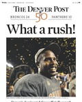 Super Bowl 50 - Newspaper Headlines