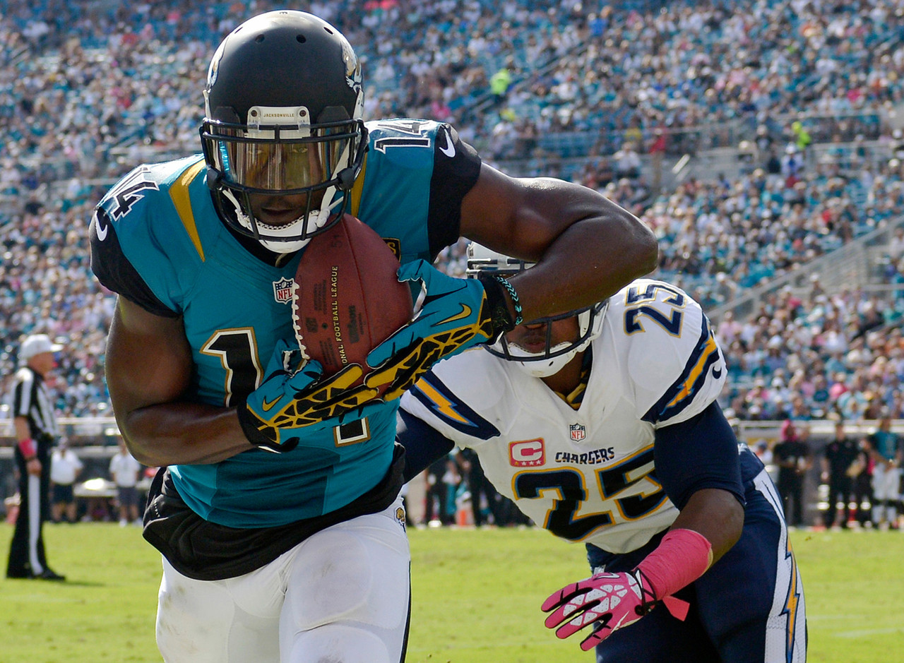 "<i><b>Drafted:</b> Fifth overall by the Jaguars in 2012.</i><br /> <br /> Blackmon, whose latest incidence of off-the-field trouble was an <a href=""http://www.nfl.com/news/story/0ap3000000606443/article/jaguars-wr-justin-blackmon-charged-with-dui"">arrest on a DUI charge</a> last December, was <a href=""http://www.nfl.com/news/story/0ap2000000274690/article/jaguars-justin-blackmon-suspended-will-miss-season"">suspended indefinitely by the NFL in 2013</a> and has not played since then, though he's still on <a href=""http://www.jaguars.com/team/roster.html"" target=""_blank"">Jacksonville's roster</a> via the ""reserve/suspended"" list. This was just a bad choice by Jacksonville, leading off the final draft class selected by the previous Jaguars regime. Blackmon was very productive at Oklahoma State, but he ran bad routes and lacked the speed to make a real impact in the NFL, even if his off-field isssues <i>hadn't</i> derailed his career."
