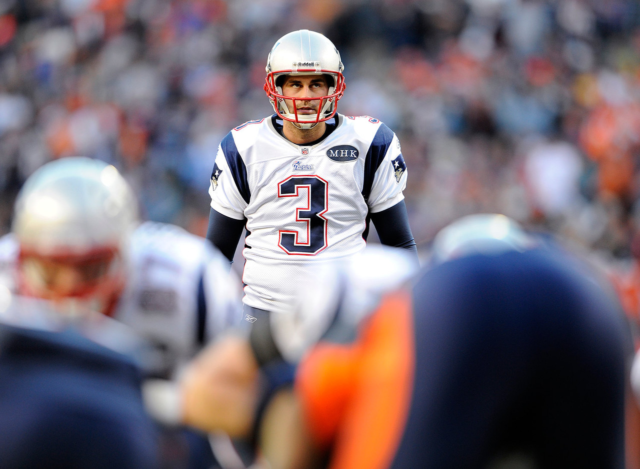 <i><b>Drafted:</b> Round 4 (No. 118 overall) in 2006 by the New England Patriots.<br /> <br /> <b>Team:</b> Patriots, 2006-present.</i><br /> <br /> Gostkowski, who led the NFL in points scored in each of the past four seasons, is the only player since the merger to lead the league in scoring in more than two consecutive seasons. The future Hall of Famer's career field-goal percentage of 87.3 ranks third all-time, and he's tied for fifth (with Justin Tucker) in field goals made in a single season (38, in 2013).