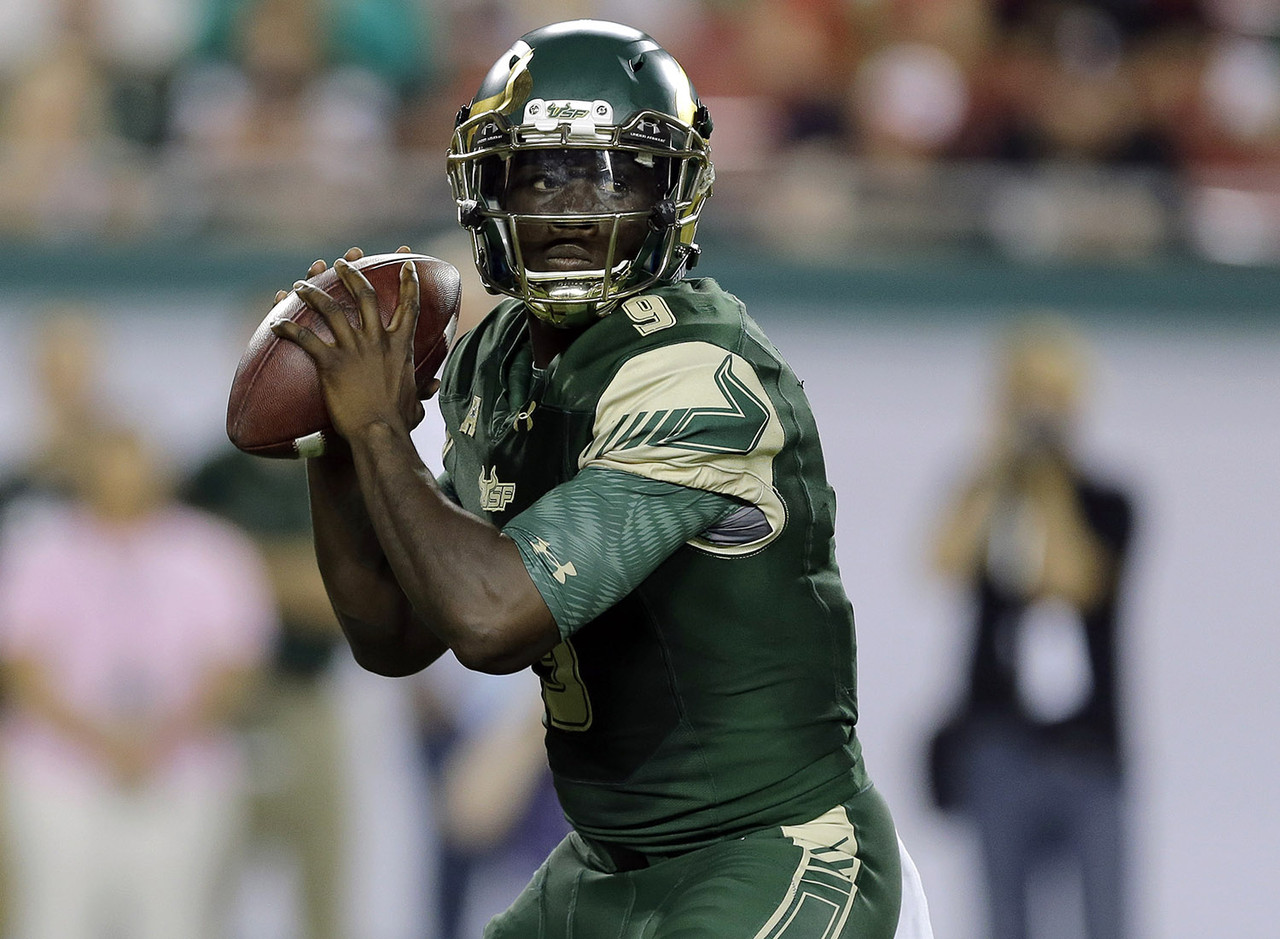 <b>Class (size):</b> Junior (6-foot-0, 210 pounds) <br><br>Without Flowers running the show, USF won just four games in 2014; with Flowers at the helm last year, they only lost four in the regular season as one of the nation's most improved teams. He stole a win on the road against East Carolina last year with a 67-yard TD pass with 4:40 left to play, and ended up earning team MVP honors. Flowers is the biggest reason the Bulls are a threat to win the AAC this fall.
