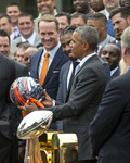 The Broncos visit the White House
