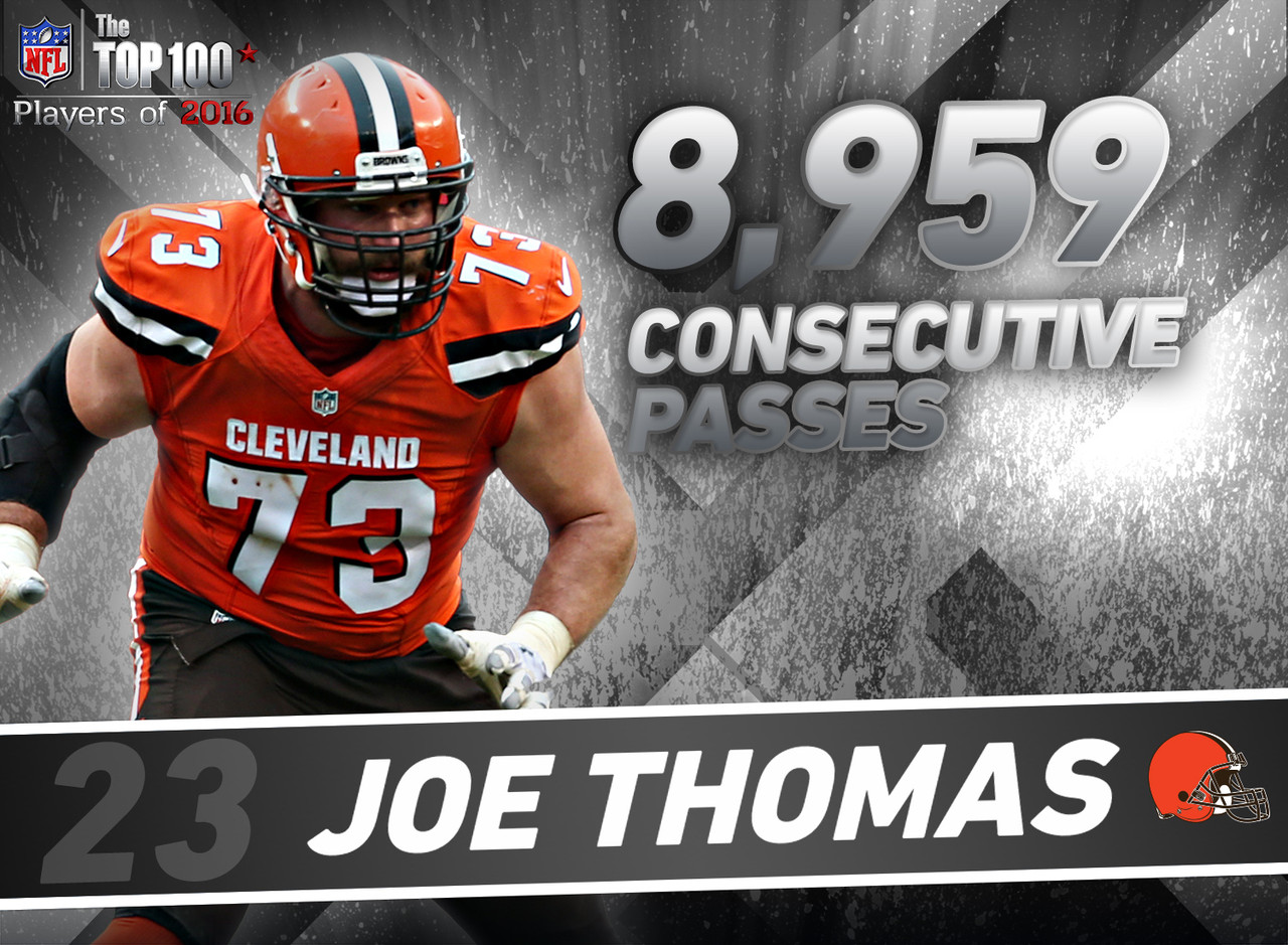 mind blowing stats for the top players of com 23 joe thomas t cleveland browns