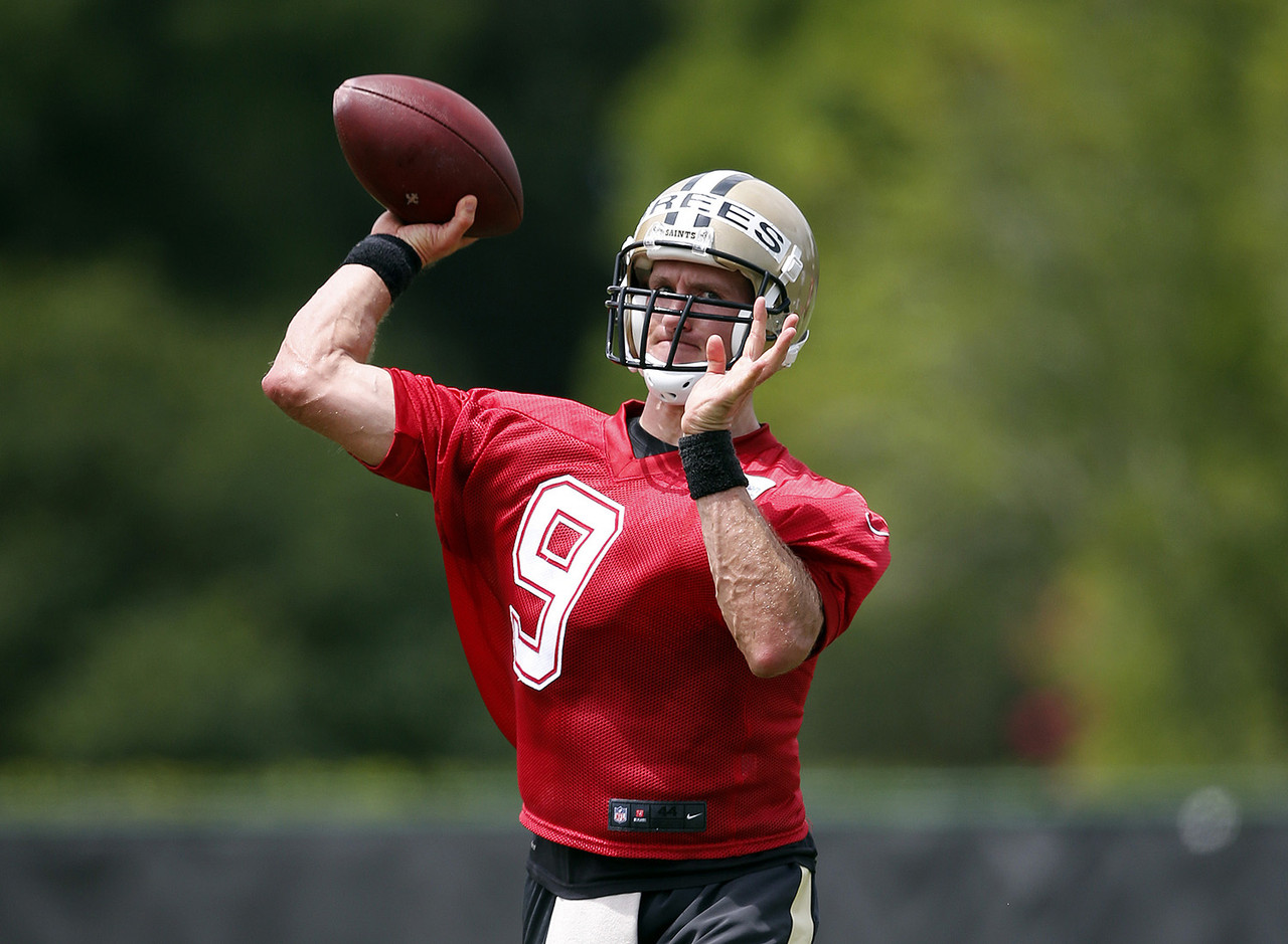 <i><b>Will finish with:</b> 5,010 passing yards.</i><br /> <br /> <i><b>2015 rank:</b> No. 1, with 4,870.</i><br /> <br /> Brees is 37 and entering a contract season. I think he's a prideful guy who would like to play several more years and run up some records. I spent some time with him in Chicago during this year's draft week, and he looked like he was in the best shape of his life. I don't think I've seen him more excited about a season. Receiver Brandin Cooks has a ton of run-after-the-catch ability and should continue to come into his own in Year 3. New tight end Coby Fleener will help, while receiver Willie Snead is a real sleeper. Brees is just 458 yards away from passing Dan Marino for third on the all-time list, and he'll easily get there when he notches his fifth -- <i>fifth!</i> -- 5,000-yard season.<br /> <br /> <i><b>Also considered:</b> Philip Rivers, San Diego Chargers; Ben Roethlisberger, Pittsburgh Steelers; Carson Palmer, Arizona Cardinals.</i>