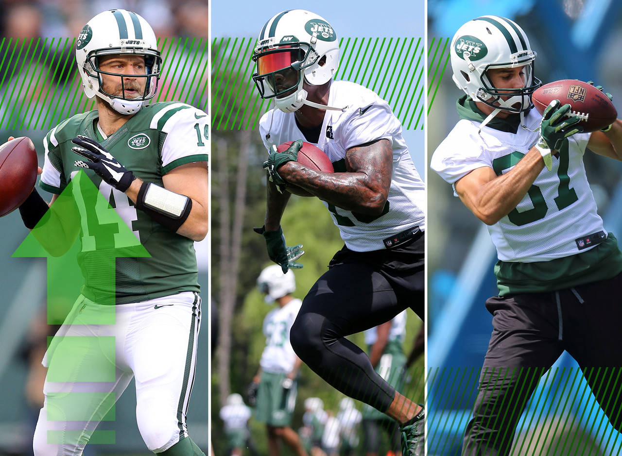 The band is back together! Ryan Fitzpatrick and the Jets agreed to a one-year deal, reuniting him with Brandon Marshall and Eric Decker. That trio made beautiful music together last year. Now we get to see what's in store for the encore. For the record, I think this could have been the Year of Geno but I guess we might never really know.