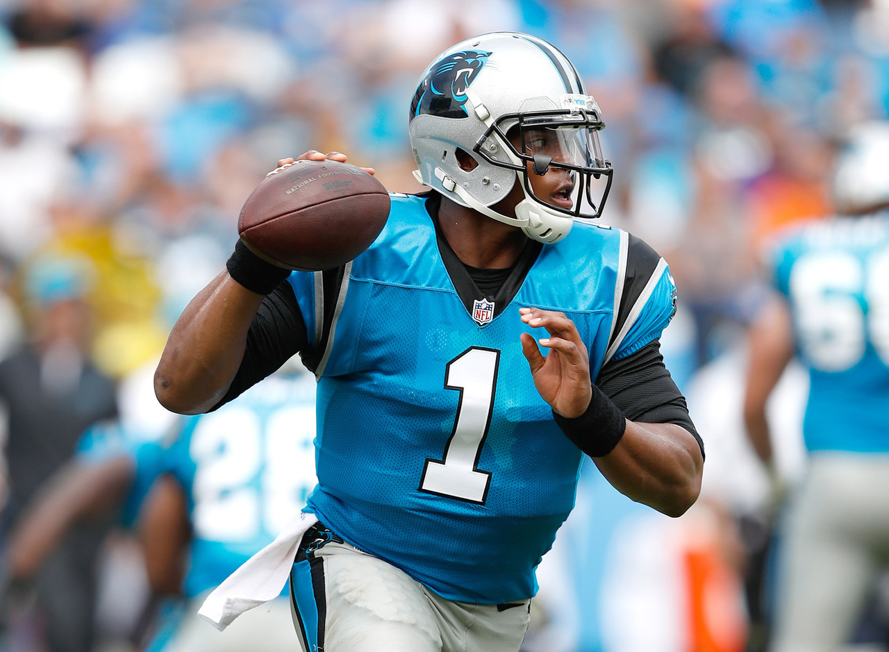 "This is a scary thought. Newton was <a href=""http://www.nfl.com/news/story/0ap3000000633343/article/cam-newton-named-nfls-most-valuable-player"">the 2015 NFL MVP</a>, and I think he'll be much better in 2016. He is playing <a href=""http://www.nfl.com/videos/carolina-panthers/0ap3000000673259/Top-100-Players-of-2016-No-1-Cam-Newton"">with supreme confidence,</a> and <a href=""http://www.nfl.com/news/story/0ap3000000682365/article/kelvin-benjamin-eager-to-renew-role-as-panthers-no-1-receiver"">the return of Kelvin Benjamin</a>, who missed 2015 with a torn ACL after recording 1,008 receiving yards in 2014 as a rookie, is huge. Newton throws the best skinny post in the league, and Benjamin is borderline uncoverable on that route. Don't be surprised if we have a repeat MVP in 2016."