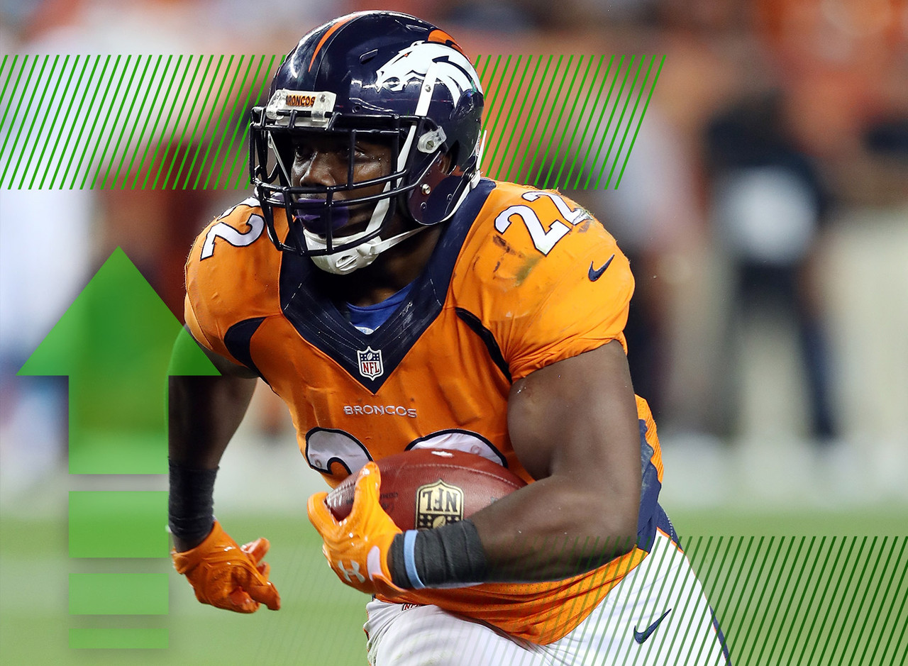 Do you believe now? I heard from plenty of C.J. Anderson skeptics during the preseason, but a 25-point performance in primetime against one of the NFL's most formidable defenses will be enough to change plenty of minds. The biggest takewaway from Thursday night was the lack of a secondary running back. We saw a little bit of Devontae Booker and Kapri Bibbs ... but this is going to be Anderson's backfield.