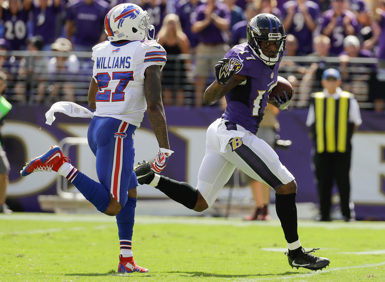 Mike Wallace, WR, Baltimore Ravens (23.5 percent owned)