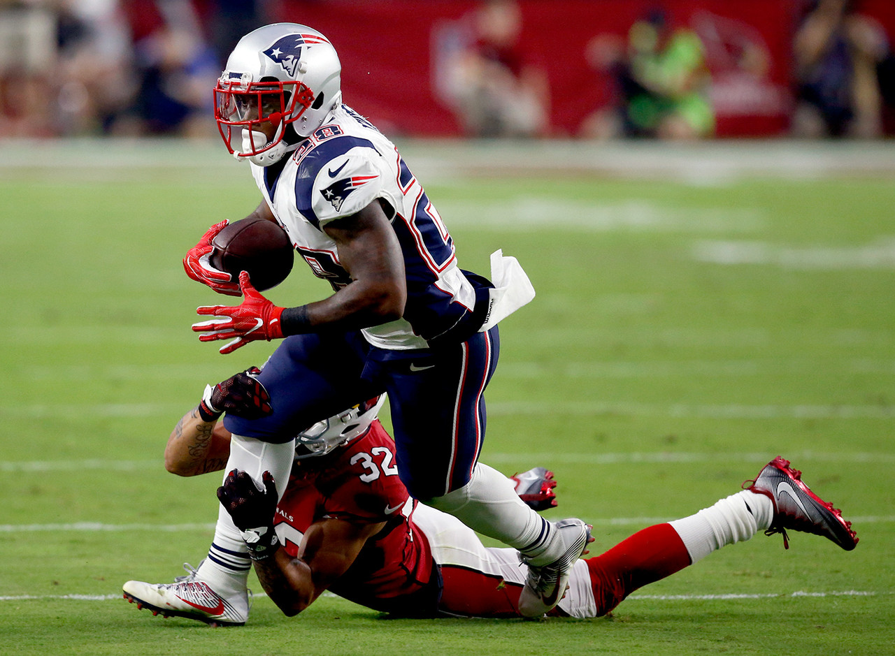 James White, RB, New England Patriots (8.7 percent owned)