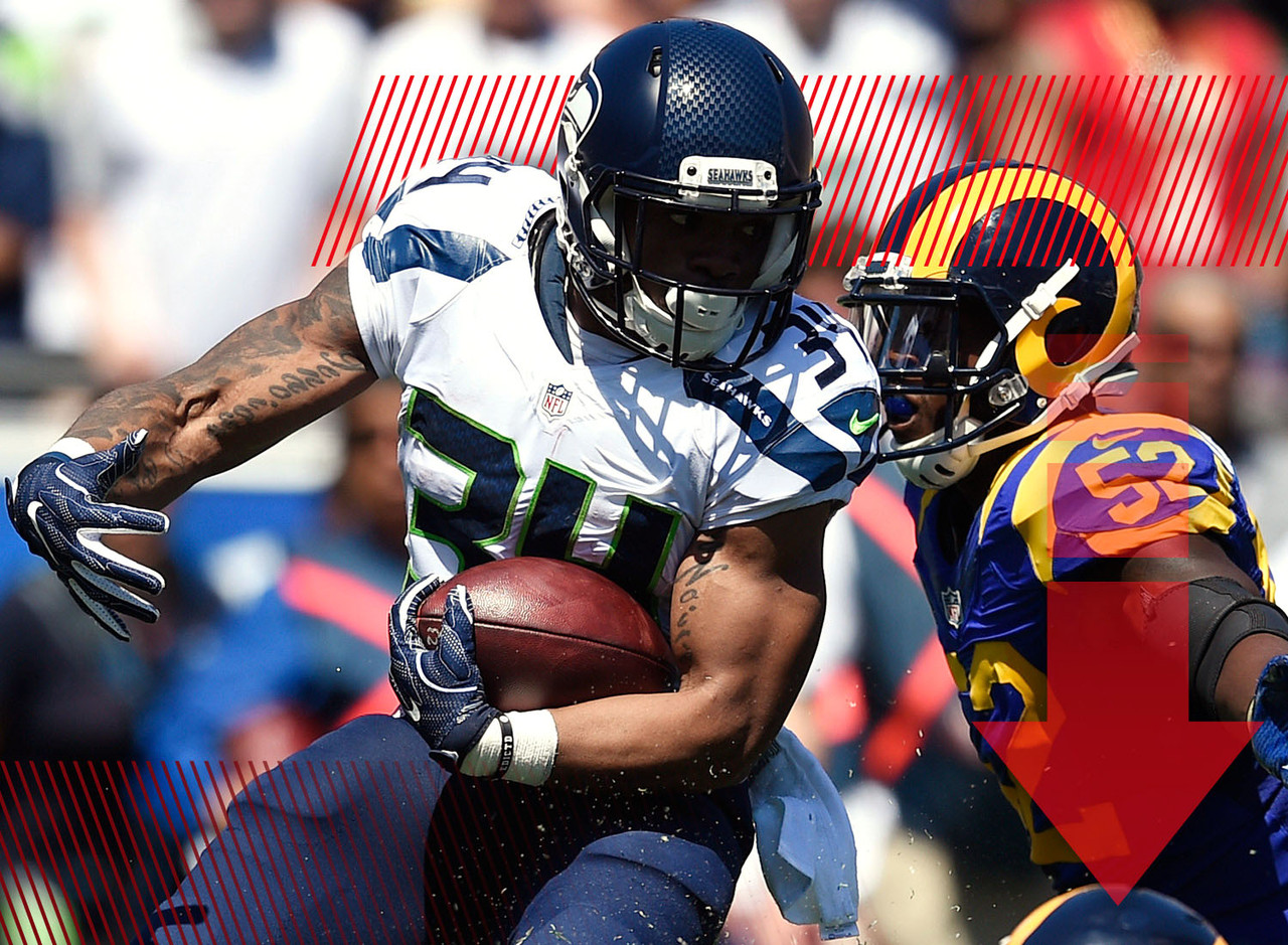 Earlier in the week, it appeared that the leg contusion Rawls suffered wasn't going to be an issue. But as he's continued to miss practice there is reason to be concerned that he'll miss this week's game against the 49ers. When Rawls was healthy last week, he was still being outplayed by Christine Michael. When he's ready to go, this will remain a committee. But if Rawls is gone for too long, might we see that ratio start to slip?
