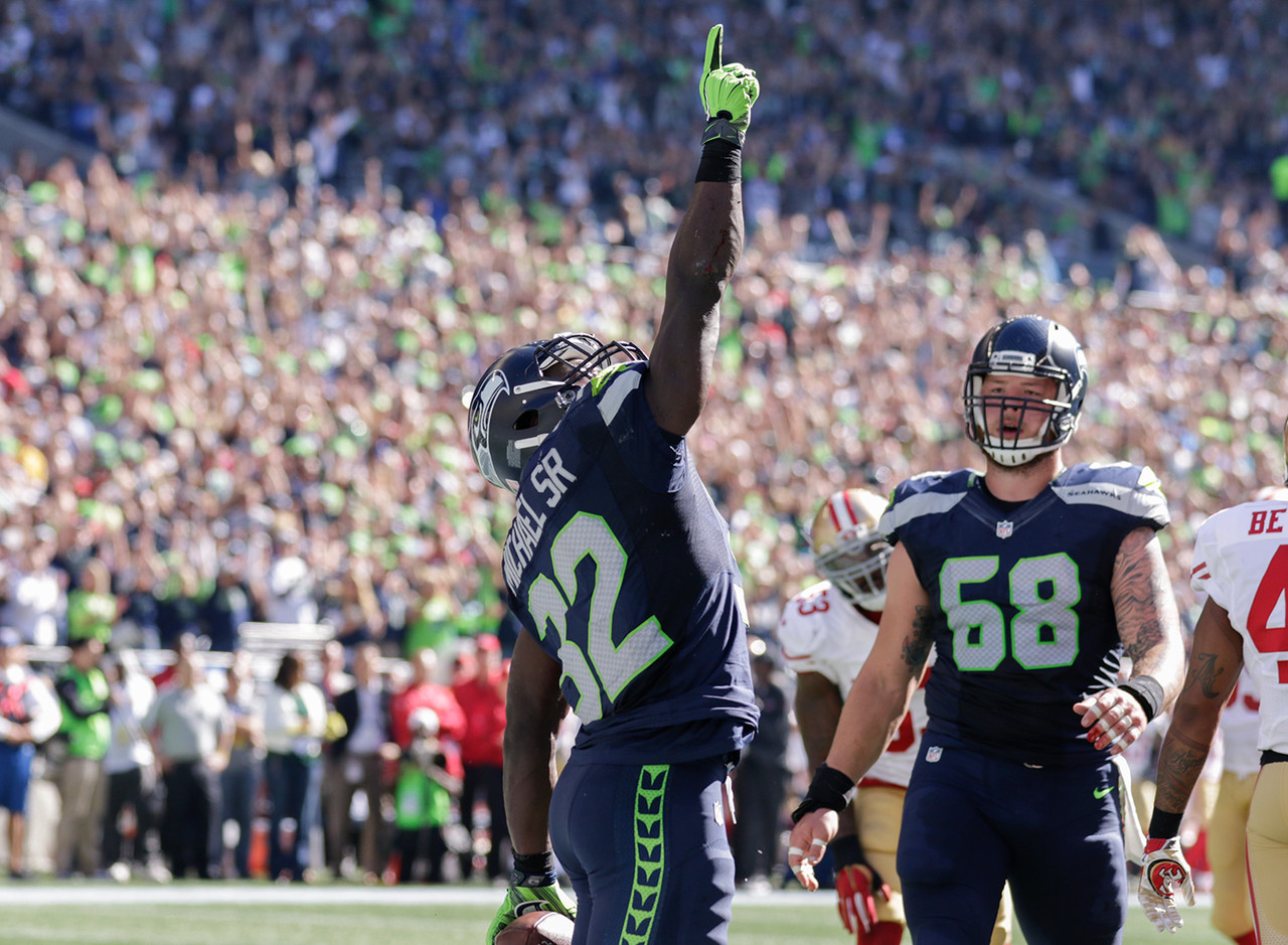 Christine Michael, RB, Seattle Seahawks - 66 percent owned