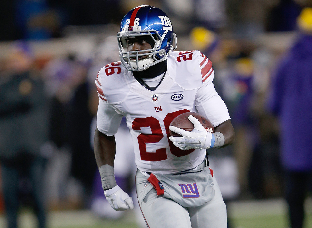 Orleans Darkwa, RB, New York Giants - 0.1 percent owned
