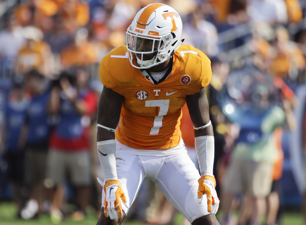 Sutton was playing well before fracturing his right ankle against Ohio in Week 3. Coach Butch Jones has said there's a possibility he'll return late in the season. I hope he can return to field this year because as talented as he is, there are 10-12 cornerbacks that could be fighting for first- and second-round consideration in 2017. Missing so much time in his final collegiate season could put him at a disadvantage against other CBs that were able to show their wares throughout the season.