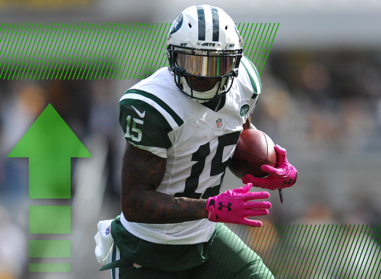 Marshall hasn't been quite the fantasy stud he was a year ago but he'll be asked to do a little bit more in the Jets offense with Eric Decker officially on injured reserve. Marshall's targets have gone up each game this season and should hover in the range of 12-15 per game without Decker available. Never fear, it looks like Marshall is back to being the WR1 you spent an early-round draft pick on.