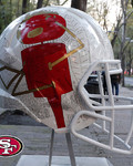 Artists take on all 32 NFL team helmets