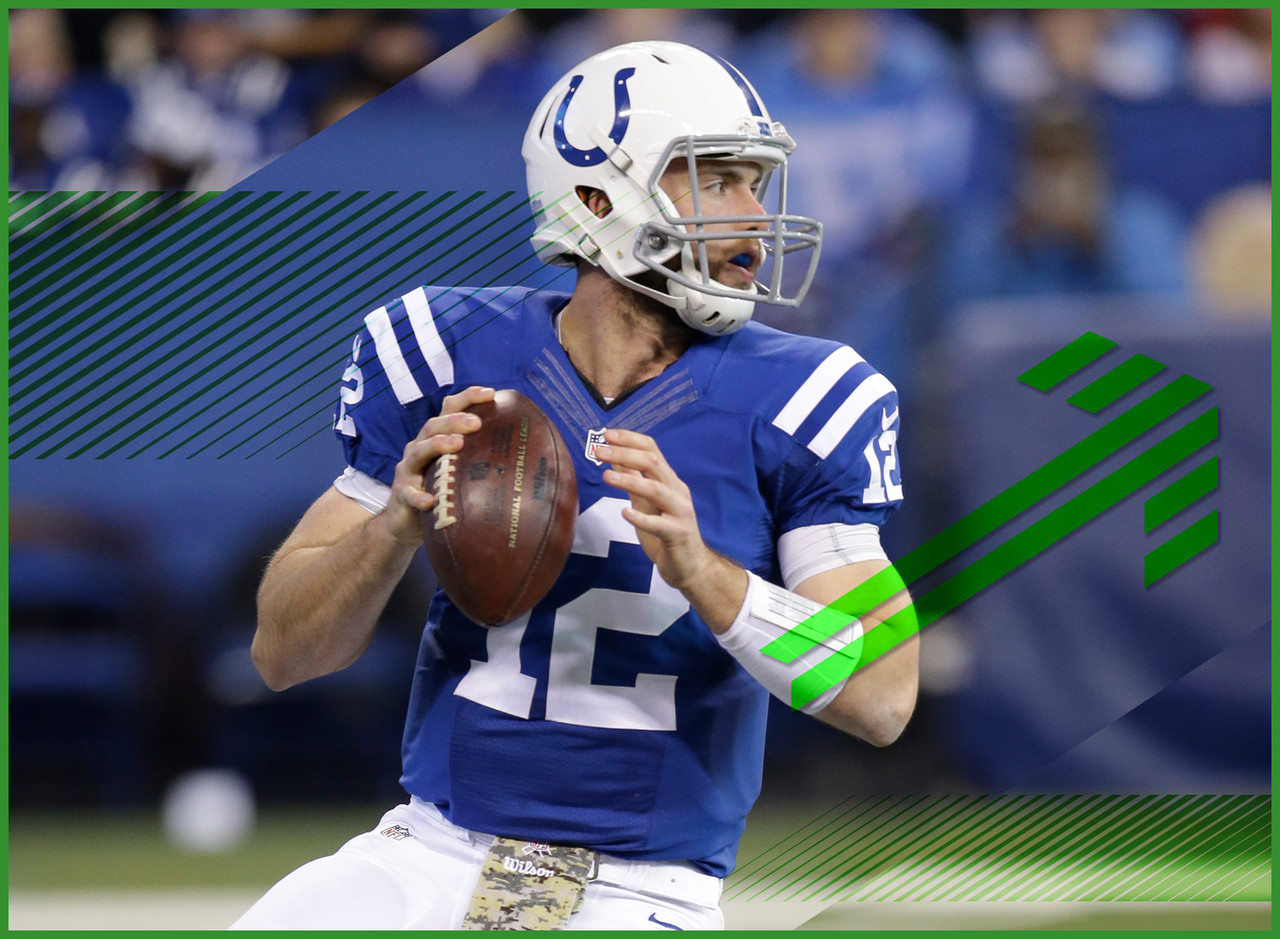 At the time of this writing, Luck hadn't officially been cleared from the league's concussion protocol but the Colts quarterback was back to work getting in some practice time ahead of Monday night's game against the Jets. It's a reassuring fact not only for Luck himself but for the other key pieces in the Indianapolis offense. If the quarterback is a go this week, everyone else's value goes up accordingly.