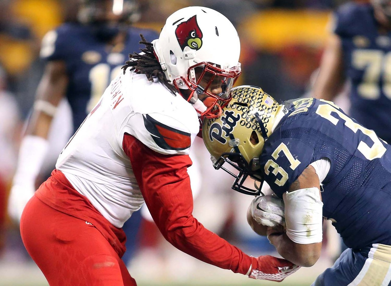 <b>Game:</b> Boca Raton Bowl (vs. Memphis), Dec. 20, 7 p.m., ESPN<br> Stuck on the second tier of the depth chart at Louisville, Brown moved on as a graduate transfer to WKU. The Miami native destroyed Conference USA opponents in 2016, racking up 123 tackle (12.5 for loss) in an all-conference effort. He's a stocky Sam or Mike 'backer who is agile enough to handle coverage duties in addition to holding the edge vs. the run.