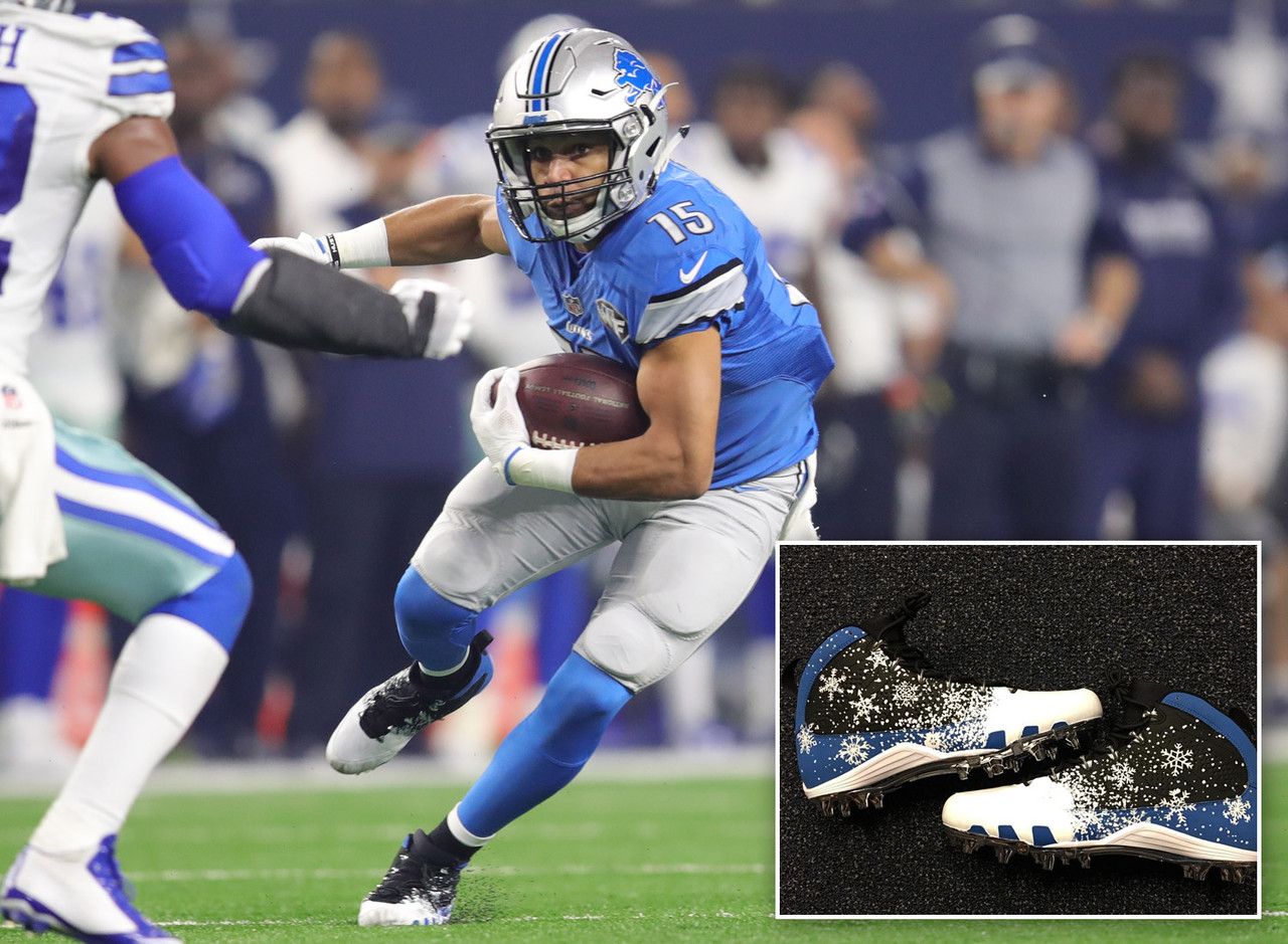05c189c74 NFL s Best Cleats of Week 16
