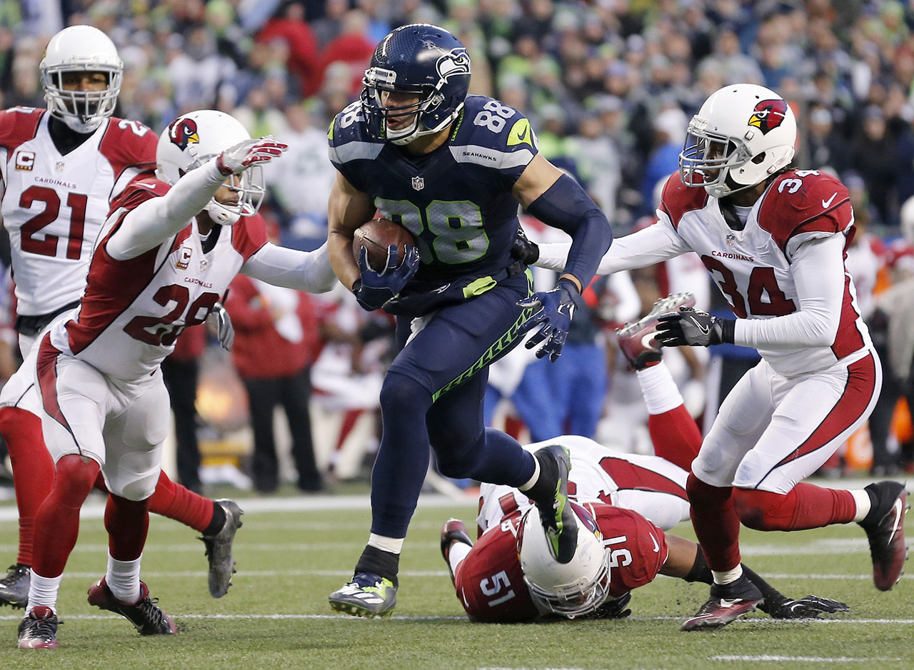 10. Jimmy Graham, TE, Seattle Seahawks | NFL.com ADP: 13