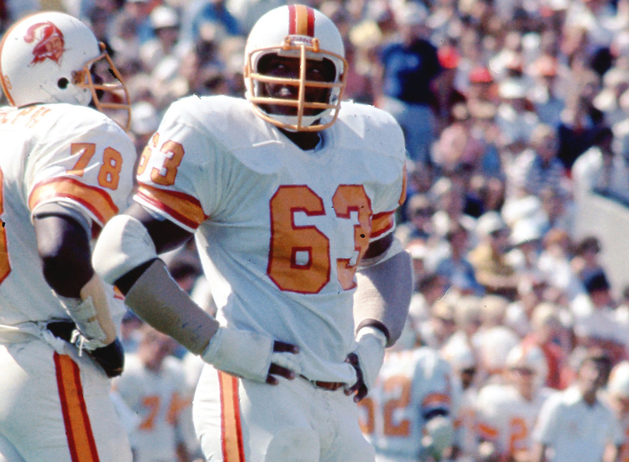 <b>Drafted by:</b> Tampa Bay Buccaneers, 1976.<br /> <br /> The Bucs' first real star, Selmon came out of Oklahoma ready to play in 1976 -- and by 1979, he was making the Pro Bowl every year. Selmon would make six straight Pro Bowls before a bad back forced him to retire prior to the 1985 season. Selmon was the best player the Bucs ever had prior to the Tony Dungy teams.