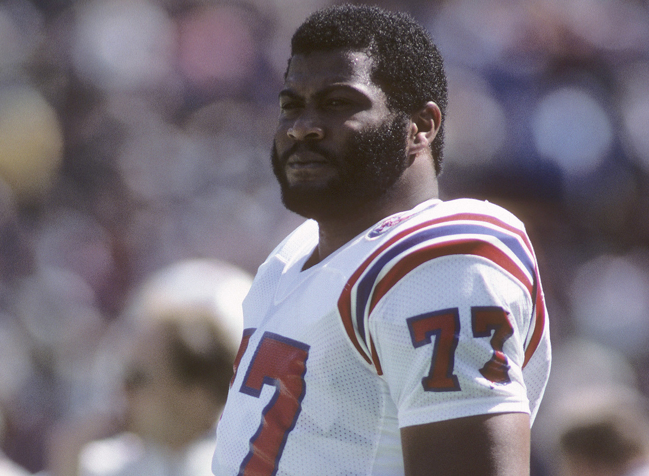 <b>Drafted by:</b> New England Patriots, 1982.<br /> <br /> A big defensive lineman taken first overall from the University of Texas was supposed to be dominant. Yeah, it didn't really work out that way for Sims, who stumbled out of the blocks in a rookie season interrupted by a players' strike. Sims was hurt in Year 2, and by Year 3 was considered a bust with all of 6.5 sacks to his name. He stuck with it through off-the-field ups and downs, enjoying his finest season in 1985 with 5.5 sacks and a Super Bowl berth for the upstart Patriots. By his final season, he had worked himself into a decent player ... for a 5-11 team.