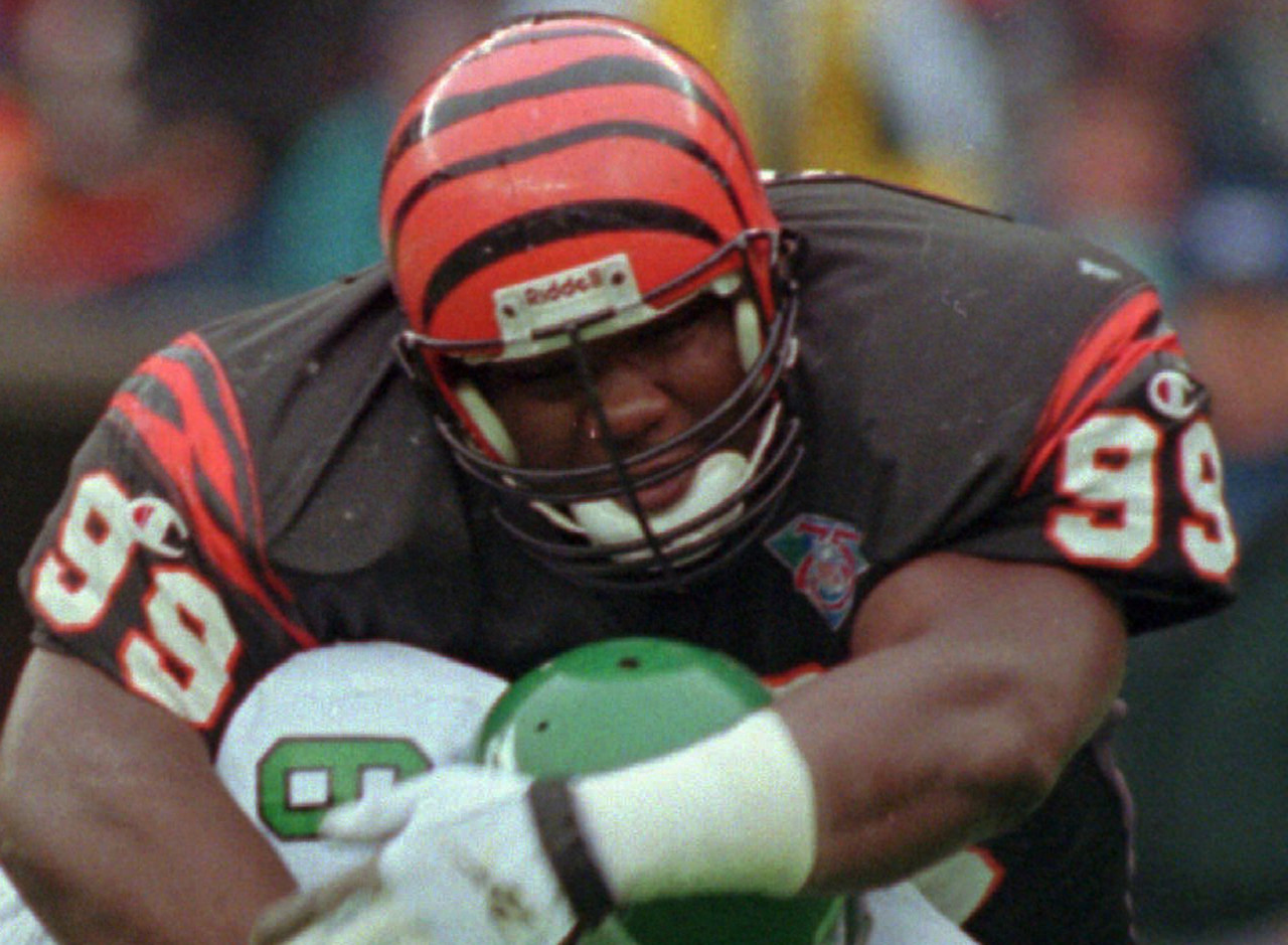"<b>Drafted by:</b> Cincinnati Bengals, 1994.<br /> <br /> Wilkinson never played to the level of the game-changer he was purported to be. In fact, he was one of several top draft picks that didn't quite pan out for the Bengals in their putrid decade of the '90s. ""Big Daddy"" was far from a bust, though, ultimately playing 13 years in the league and racking up 54.5 sacks from the defensive tackle position. That ain't bad."