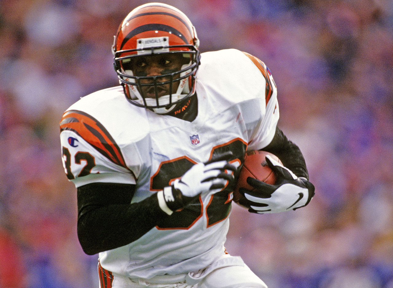 <b>Drafted by:</b> Cincinnati Bengals, 1995.<br /> <br /> Carter was the most talented running back in the top conference in college football, but he's remembered for being a mediocre NFL running back. The bridge -- the broken bridge -- between the two is what happened on Aug. 17, 1995: Carter made a cut in the Pontiac Silverdome on his third professional carry, tearing a ligament in his knee, which set him on the path to what he would become with the Bengals. He was never the same explosive (but still powerful) back again. Talk to any evaluator or anyone covering the Big Ten at the time, and they will tell you how unique this guy was. Despite a myriad of injuries and comebacks, Carter scratched out seven years and 1,144 yards in the league.