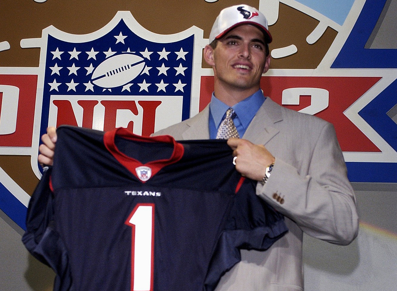 <b>Drafted by:</b> Houston Texans, 2002.<br /> <br /> The first thing that comes to anyone's mind regarding Carr's career is how much he was annihilated. No one -- from the fans to assorted media members -- can get past the constant barrage of pressure the elder Carr was under early in his days with the Texans. Which means that we all miss the outstanding talent he possessed. Carr's arm strength was fantastic, as was his overall athletic ability. He made plenty of big plays, too, be it to Corey Bradford, Andre Johnson or Billy Miller. You've probably never heard of two of those guys, which is another reason Carr led the league in being sacked three of his five seasons as a starting QB.