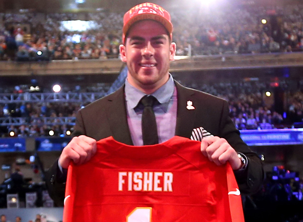 <b>Drafted by:</b> Kansas City Chiefs, 2013.<br /> <br /> Fisher has evolved into a reliable, durable starter in Kansas City, even if he hasn't been the sort of All-Pro-level player most offensive linemen taken that high are expected to be (think: Joe Thomas). Fisher has only missed six starts since being tabbed as the top prospect in the 2013 NFL Draft. He made his first Pro Bowl last season, allowing Patrick Mahomes to throw, and sometimes <i>heave</i>, 50 touchdown passes. Those vertical throws where Mahomes shows off his cannon require additional time -- thus, Fisher and the rest of the Chiefs' offensive linemen deserve credit. Fisher is easily the most anonymous No. 1 overall pick since Y2K.