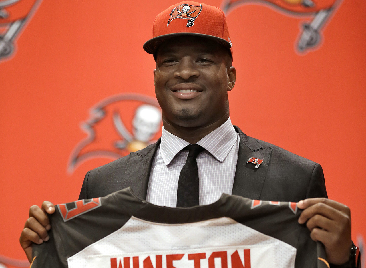 <b>Drafted by:</b> Tampa Bay Buccaneers, 2015.<br /> <br /> Winston has often carried Tampa Bay, or <i>tried to</i>, during his four years as the franchise's starting quarterback. Off-the-field problems have existed going back to his college days. Those issues -- and being outproduced by Ryan Fitzpatrick at times -- have made it difficult to put Winston's career in context. Have the Buccaneers failed because Winston lacks support or has his play failed to elevate that of his teammates? If a rising tide lifts all boats, Winston's product under Bruce Arians could be raising a young nucleus. The Bucs are likely to draft a running back. Look for them to reinvigorate the receiver room, too, after losing the reliable Adam Humphries in free agency and dealing deep threat DeSean Jackson to Philly.