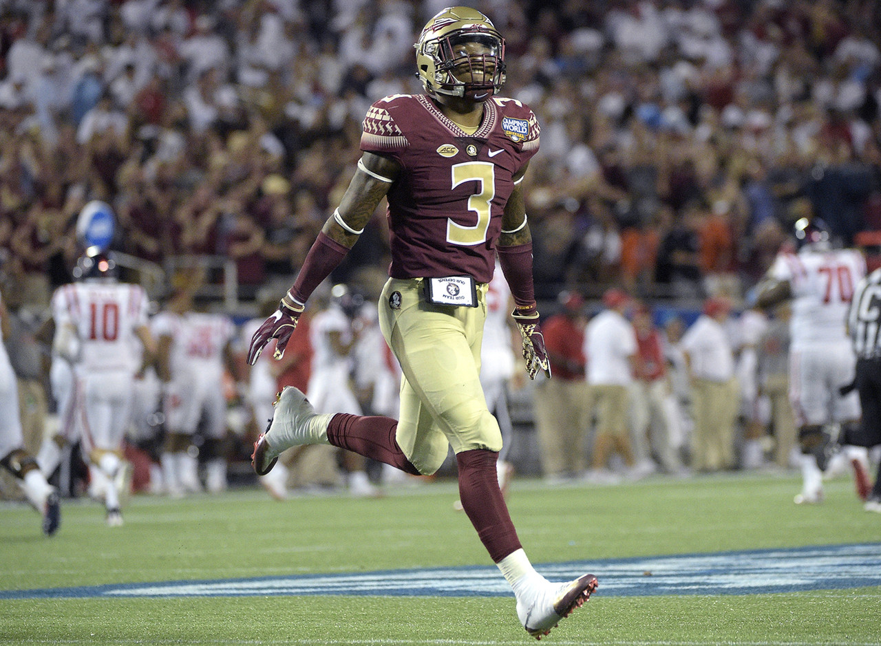 Defensive players who maintain Heisman momentum typically do so with help from their exploits as a return specialist. So as a defensive player who doesn't return kicks, James should be considered a true dark horse of the field. Still, he's a game-changer who will play multiple roles for a national championship contender, and the Seminoles like to blitz with him, so he can impress Heisman voters not only with interceptions, but sacks as well.