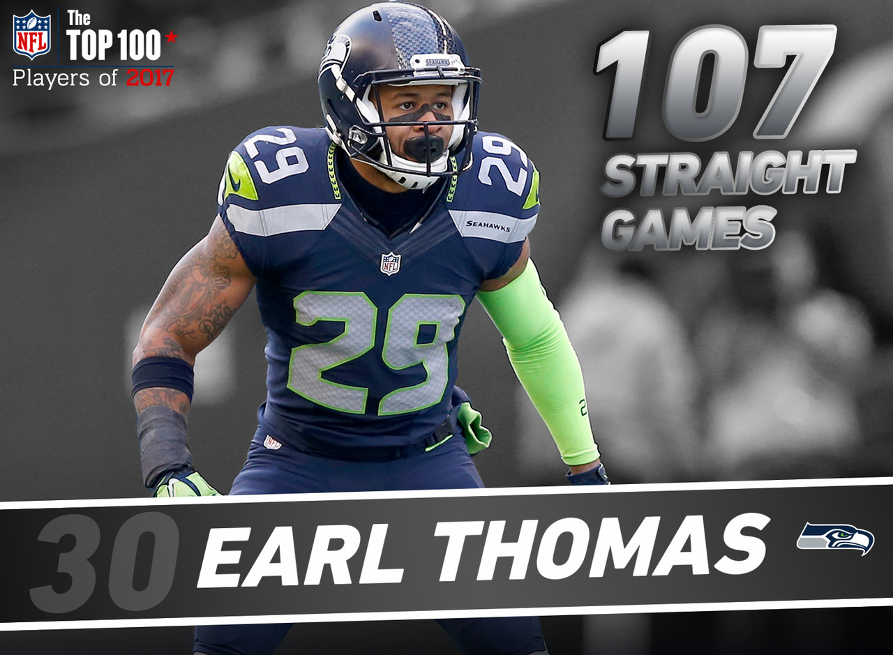 Prior to breaking his tibia in Week 13, Thomas had started 107 straight games since entering the NFL in 2010. In 2016, he recorded the fifth lowest reception percentage (48.6) among all safeties with 30+ targets. Thomas also tied for the second-most First-Team All Pro selections (3) among all defensive backs today.
