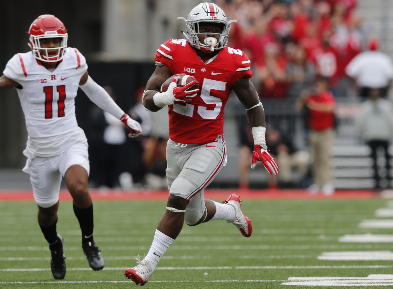 17. Mike Weber, RB, Ohio State
