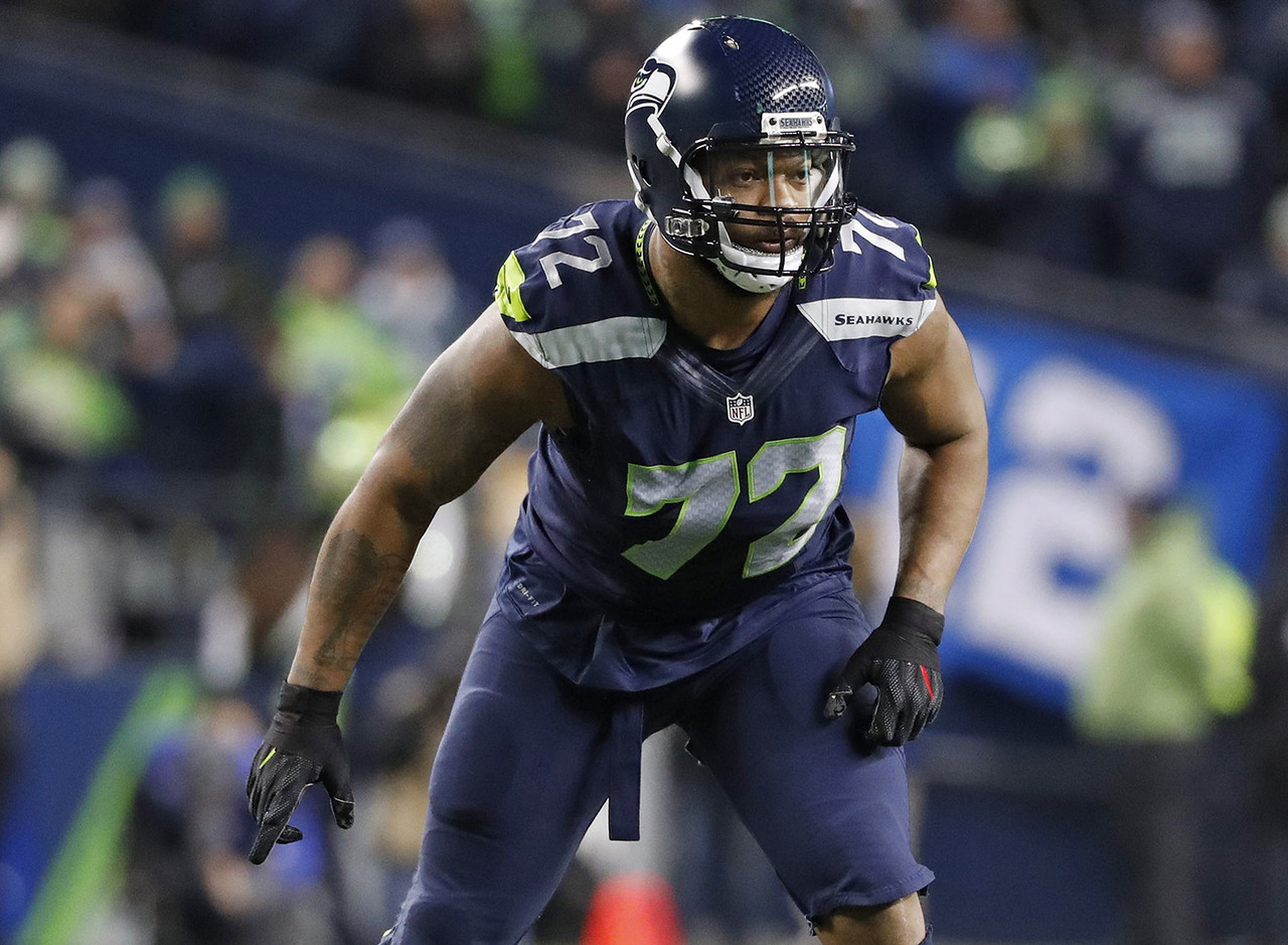 Tampa Bay Buccaneers, 2009-2012; Seattle Seahawks, 2013-2017; Philadelphia Eagles, 2018-present<br> » One-time Super Bowl champion<br> » Voted to two Pro Bowls, one-time Pro Bowl Defensive MVP<br> » Has 45.5 career sacks in nine NFL seasons<br>