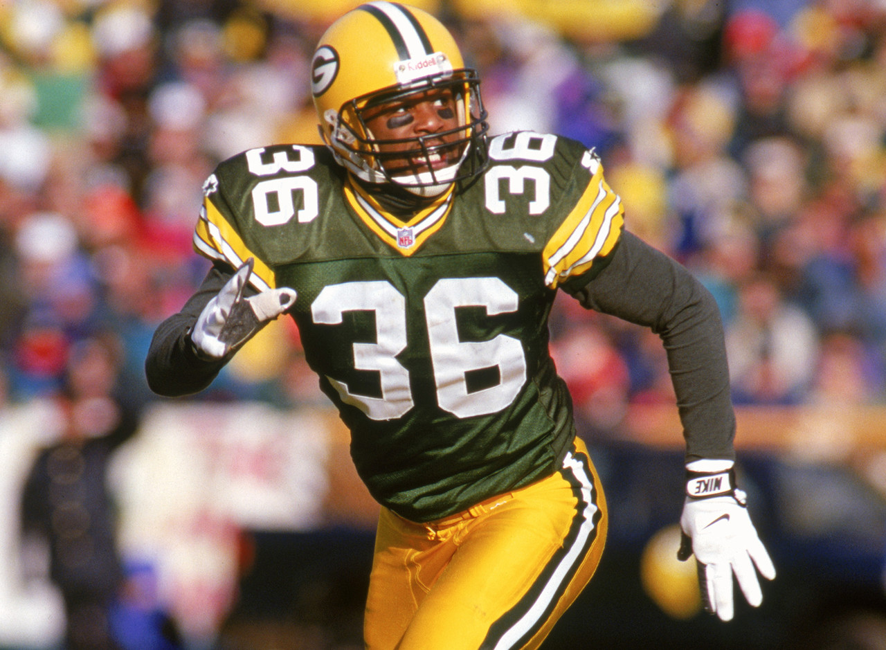 Green Bay Packers, 1990-2001<br> » One-time Super Bowl champion<br> » Voted to four Pro Bowls, First Team All-Pro four times<br> » 38 career interceptions<br>