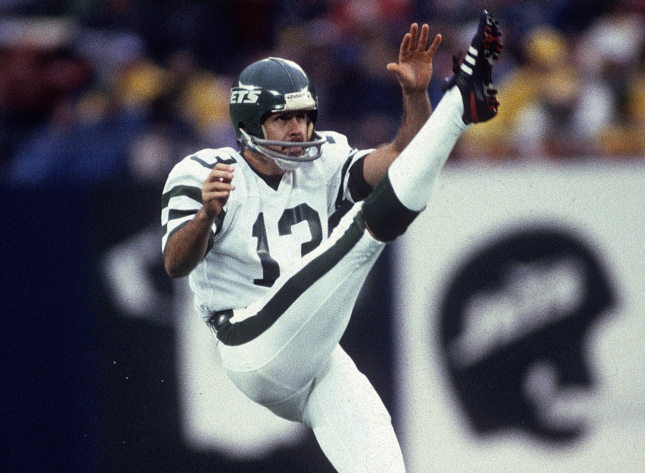 New York Giants, 1974-1984; New York Jets, 1985-1987<br> » Voted to four Pro Bowls, First Team All-Pro twice<br> » Averaged 41.2 yards per punt throughout his career<br>