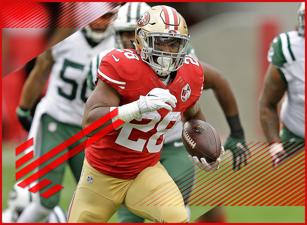 "It's taken me awhile but I'm slowly succumbing to the steady ""Carlos Hyde won't be a workhorse in Kyle Shanahan's offense"" drumbeat. The latest reports from the Bay Area suggest that Hyde will eventually end up as the starter but that it won't be easy and he'll still likely split opportunities with rookie Joe Williams and journeyman Tim Hightower. This is why we can't have nice things."