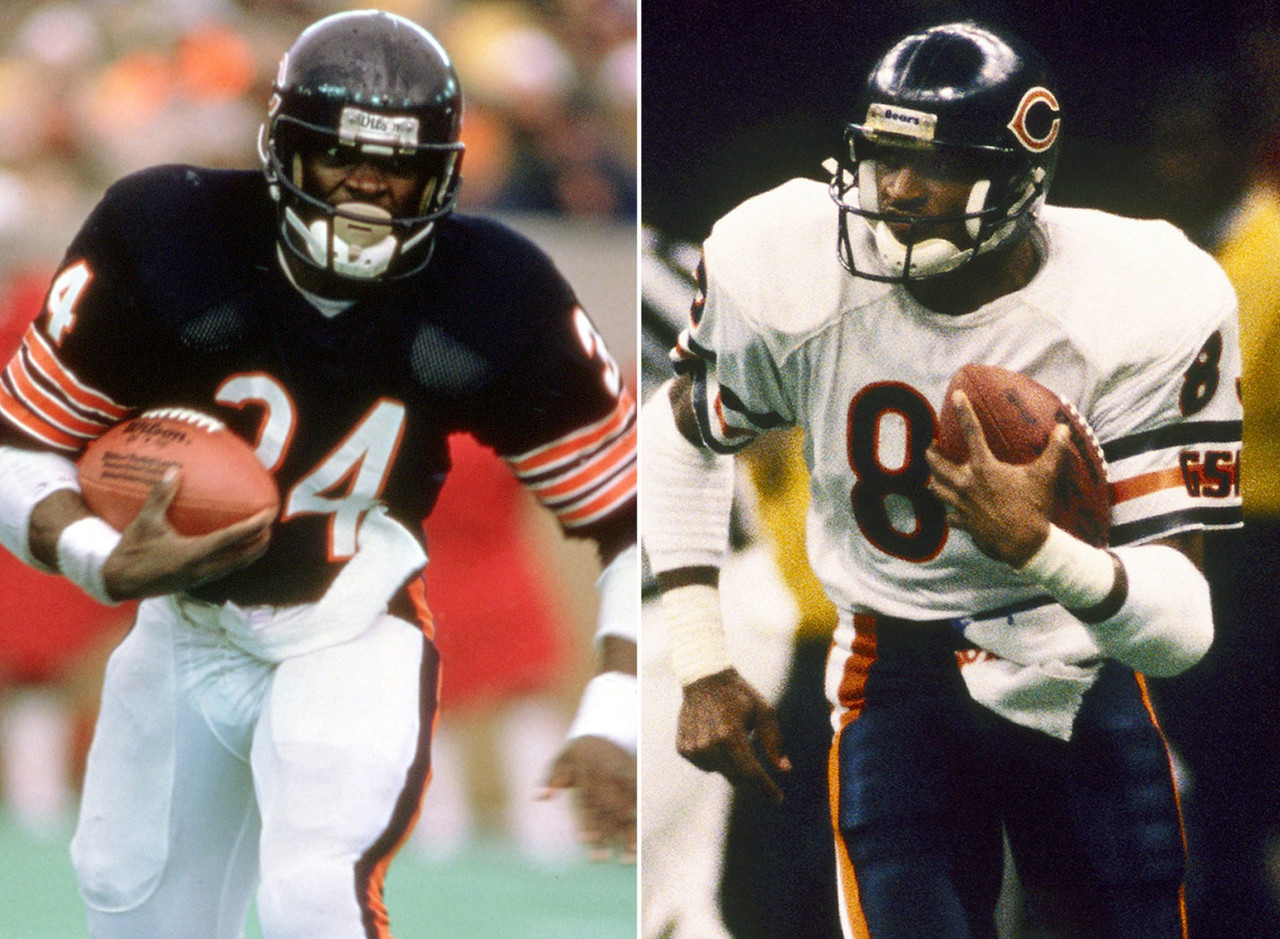 "We all know Payton is the G.O.A.T. And if this were the WWE, we know who would be the weak link. But the Bears' offense of the 1980s never gets enough credit. Everyone's familiar with the 1985 Bears' defense, but Chicago also <a href=""http://www.nfl.com/stats/categorystats?archive=true&conference=null&role=TM&offensiveStatisticCategory=SCORING&defensiveStatisticCategory=null&season=1985&seasonType=REG&tabSeq=2&qualified=false&Submit=Go"">ranked second in scoring</a> that season. Gault had ... Oh, wow -- Payton led the Bears in rushing yards <i>and</i> receptions in '85. You know what, screw it: Payton in handicap matches. He's that good.  <br><br> (Yes, I jammed the Bears into another piece. I am who I am. Deal with it. OK, now on to the real rankings ...)"