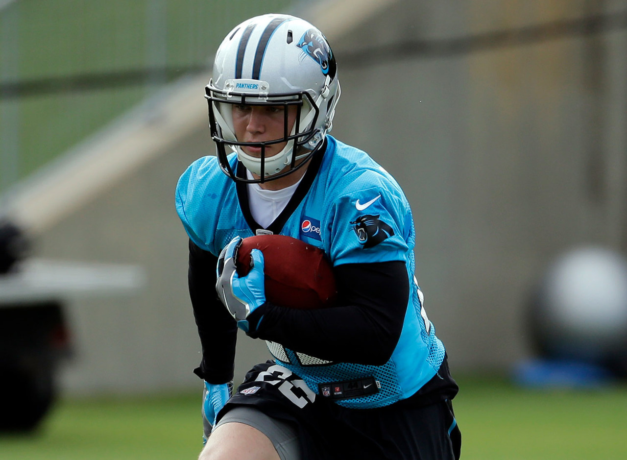 The Panthers hope they've hit big on McCaffrey, whose game-changing speed and playmaking ability could finally take a little pressure off Cam Newton to be the all-everything Superman in Charlotte. McCaffrey's overall rating is tied for tops among rookie running backs, but doesn't sniff the 88 rating Cowboys running back Ezekiel Elliott was granted as a rookie. If we all agree never to mention this to Christian, maybe he'll never find out.