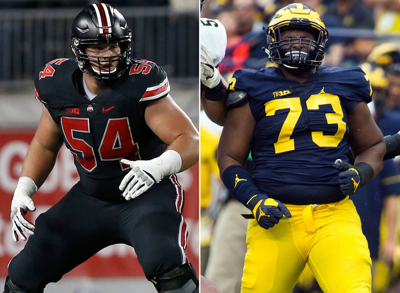 <b>When:</b> Nov. 25, at Michigan<br><br> <b>The skinny:</b> Price will be moving to center this fall after previously lining up at guard. He's started 41 straight games for the Buckeyes and enters the fall as one of the top interior offensive line prospects in the country. Hurst elected to return to Ann Arbor for his senior campaign after he flashed some big-time athleticism and quickness last fall. I'm looking forward to watching these two battle in both the run and passing game.